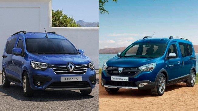 Renault Express et Dacia Dokker