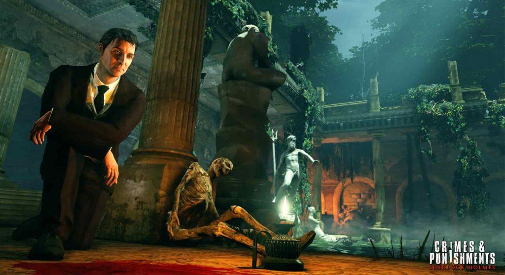 Meilleurs jeux de détective PS4 Sherlock Holmes Crimes & Punishments