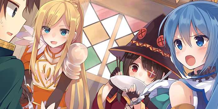 »KonoSuba«: light novel est édité par TOKYOPOP