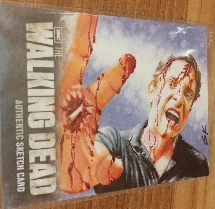 Cartes à collectionner The Walking Dead - Zombie Sketch