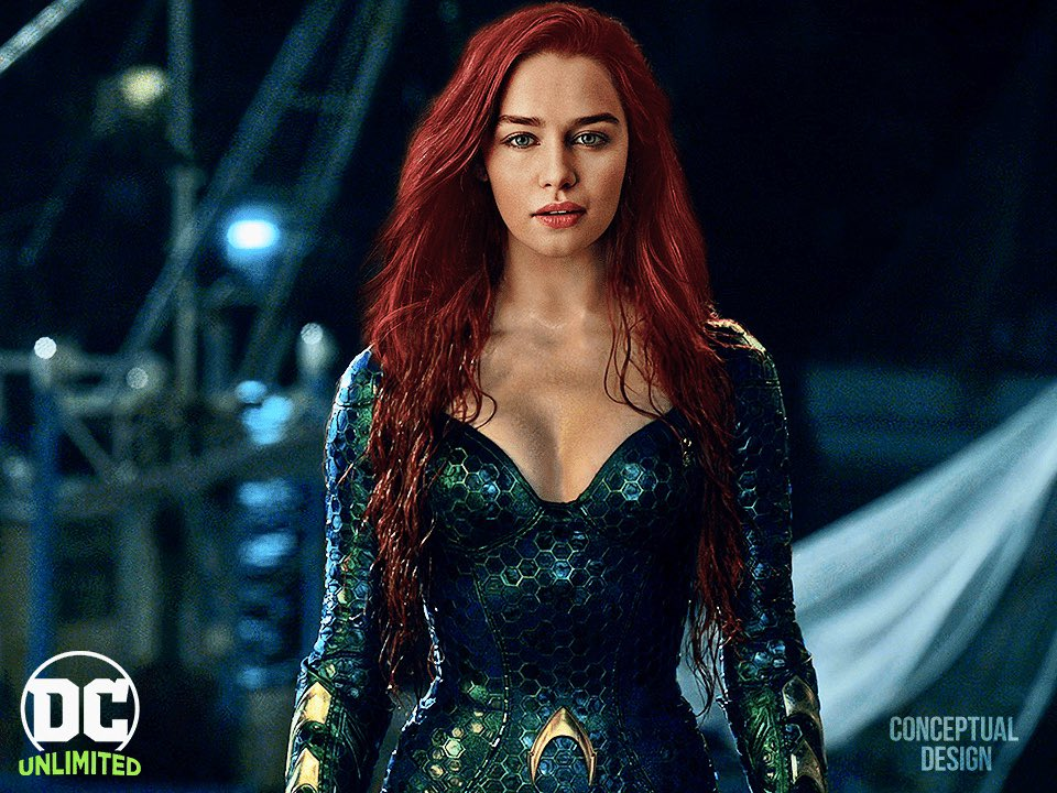 Amber Heard vs Emilia Clarke: Qui serait le meilleur Mera pour Aquaman 2
