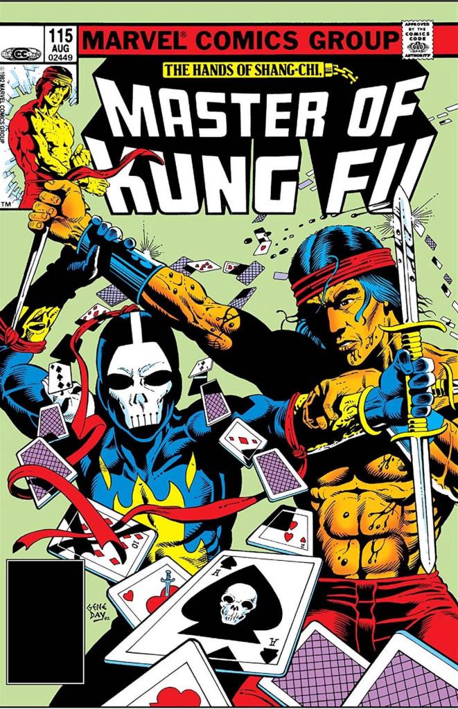 Death Dealer sur la couverture de Master of Kung-Fu # 115.