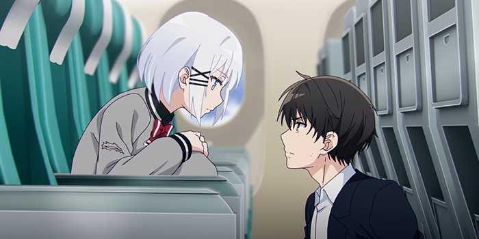 """Nouveau visuel pour l'anime """"Le Détective est déjà mort""""."""
