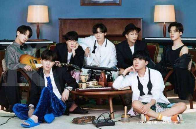BTS terpopuler di Juni 2021, puncaki 10 boy group K-Pop dengan brand reputasi terbaik