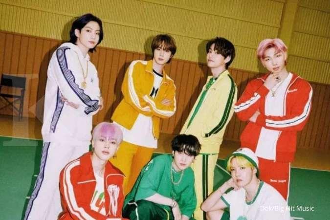 BTS kembali puncaki Billboard Hot 100 dengan Butter, bertahan 5 minggu berturut-turut