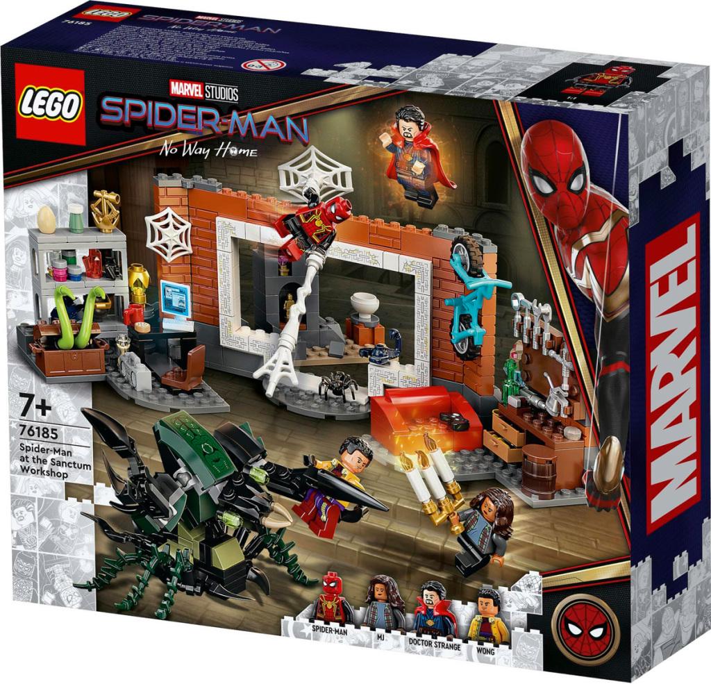 LEGO Spider-Man à l'atelier de Sanctum.