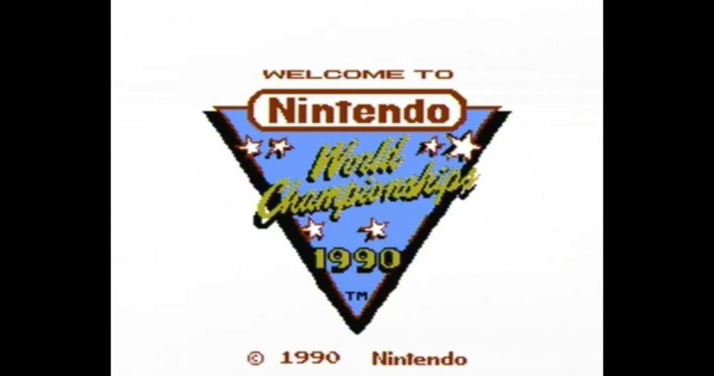 Nintendo World Championship Gold NES