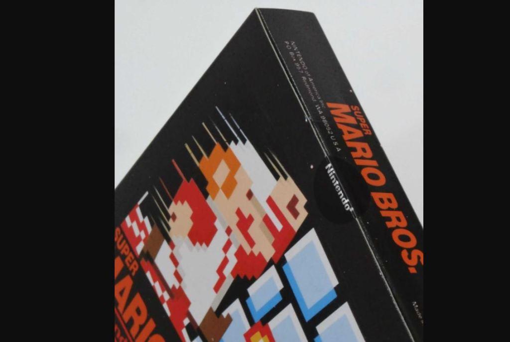 Super Mario Bros. Version de lancement d'essai NES