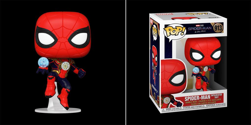 Funko Pop !  Combinaison intégrée Spider-Man.