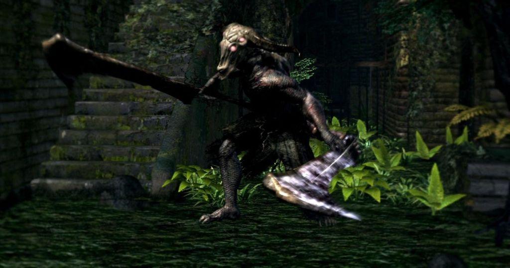 Démon Capra de Dark Souls