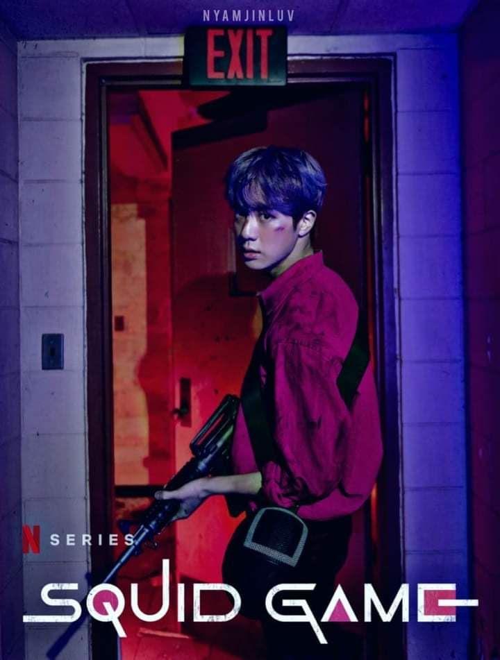BTS-Jin-Squid-Game