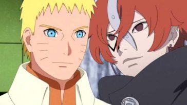 Naruto Uzumaki Et Code Dans Boruto